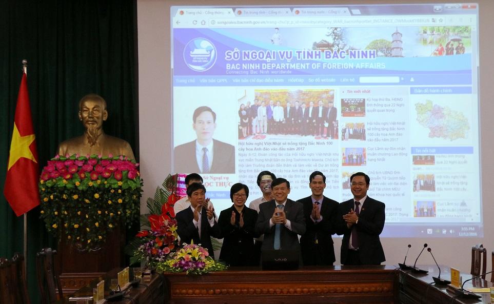 Ra mắt Trang TTĐT Sở Ngoại vụ tỉnh Bắc Ninh