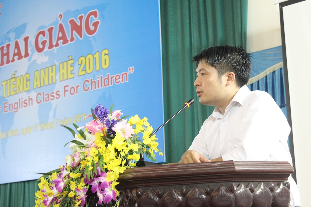 Đoàn Thanh niên Sở tổ chức lớp tiếng anh hè 2016